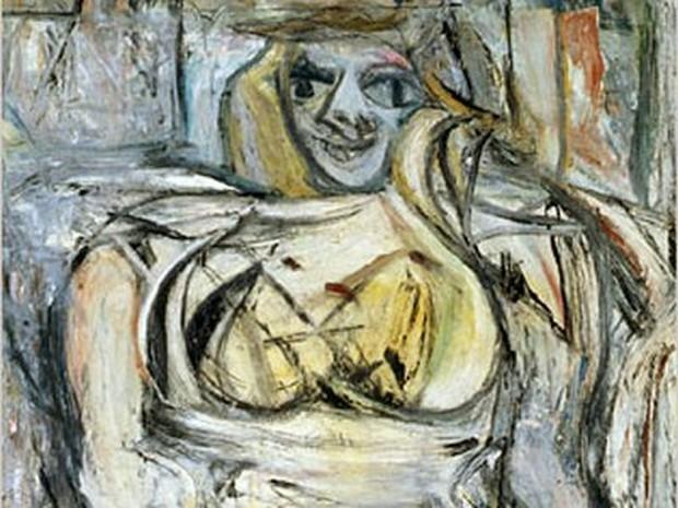 «Женщина ІІІ», Виллем де Кунинг
