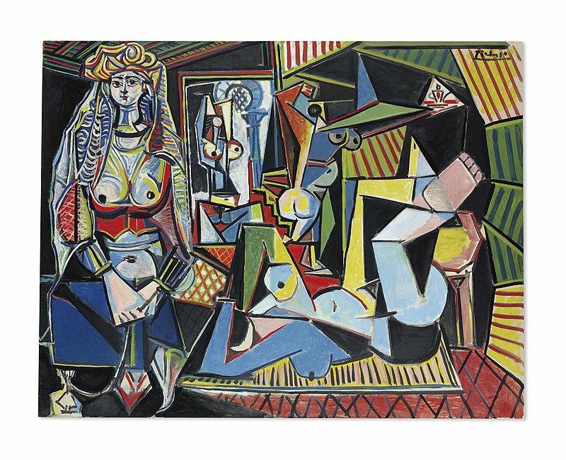 """Пабло Пикассо, """"Алжирские женщины"""""""