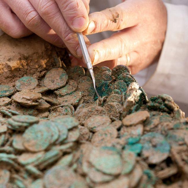 Это самый большой клад железного века, найденный в Джерси