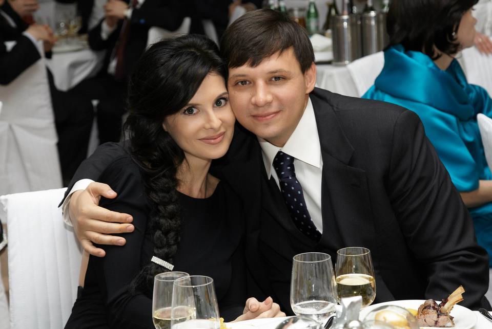 Евгений Мураев с первой женой Валерией Тарановой