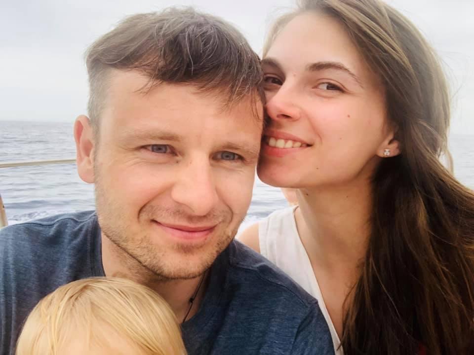 Сергей Марченко женат, счастливый отец двух детей
