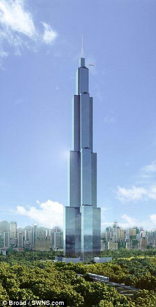 Китайская строительная компания привлечет к работам 3000 строителей.