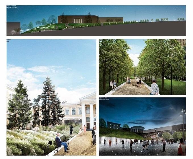 Проект реконструкции Алею Героев Небесной Сотни