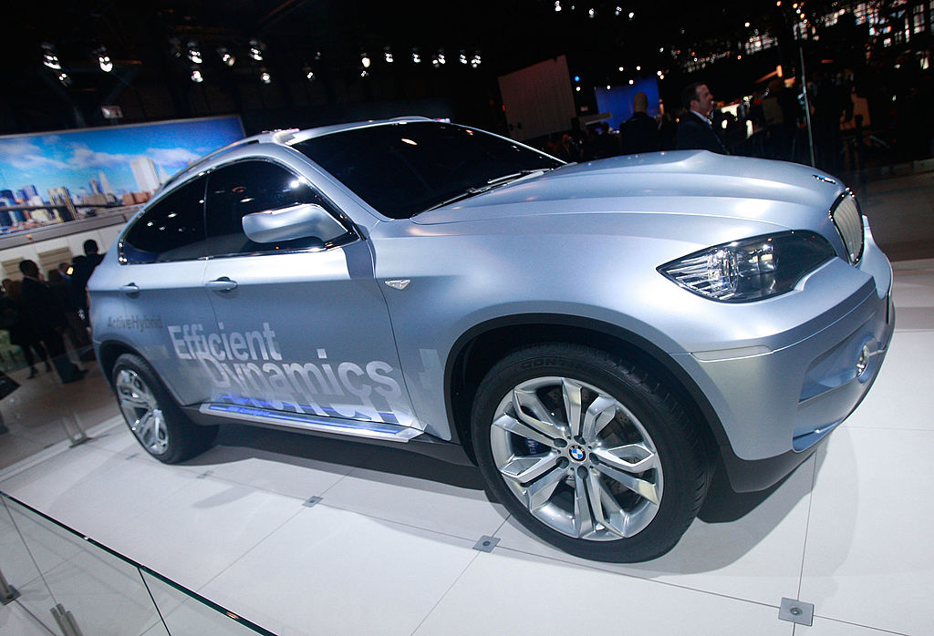 BMW X6 / Иллюстративное фото