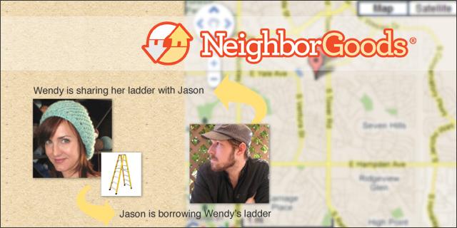 Джейсон одолжил у Венди стремянку