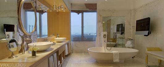 Hyatt гордится ванной в президентских апартаментах