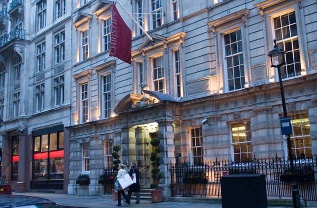 Здание известного аукционного дома Christie's в Лондоне