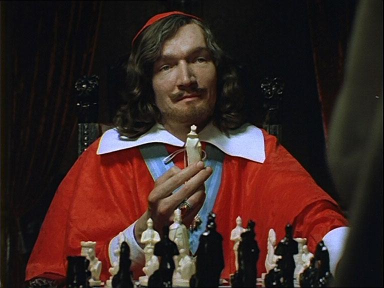 Коварный кардинал Ришелье из фильма