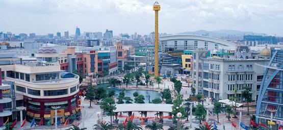 South China Mall в Дунгуане превосходит киевский Океан Плаза почти в 10 раз