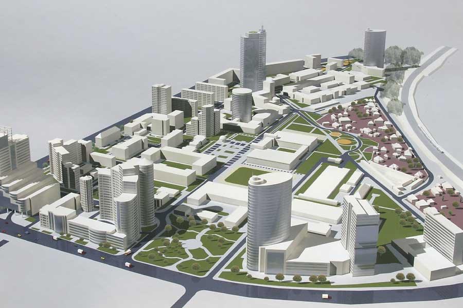 Развитие Киева до 2025 года будет осуществляться за счет застройки внутренних территорий
