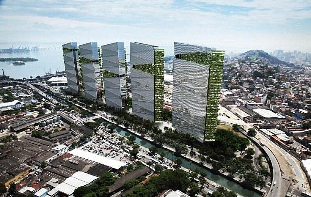 Комплекс Trump Towers Rio будет построен в районе городского порта, который местные власти стремятся превратить в бизнес-центр