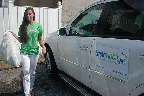 Быстро заработать небольшие деньги можно на TaskRabbit