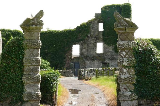 Балдунский замок в Шотландии