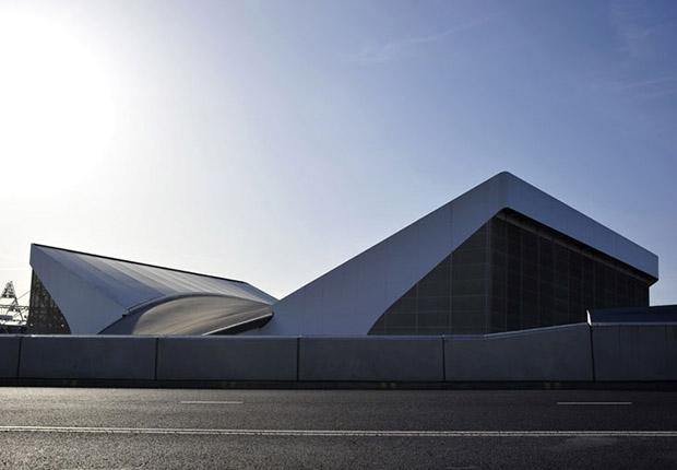 Олимпийский водный центр представляет собой железобетонный конструктор