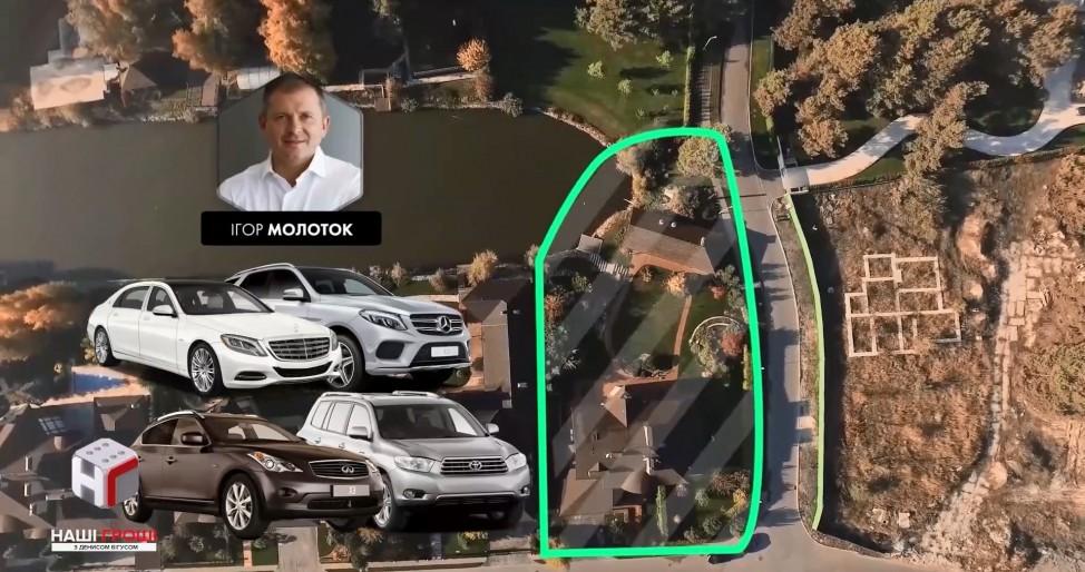 Имение Игоря Молотка, народного депутата