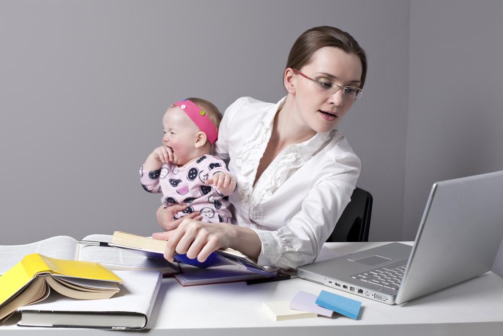 Планируйте время,чтобы не страдали ни ребенок, ни работа