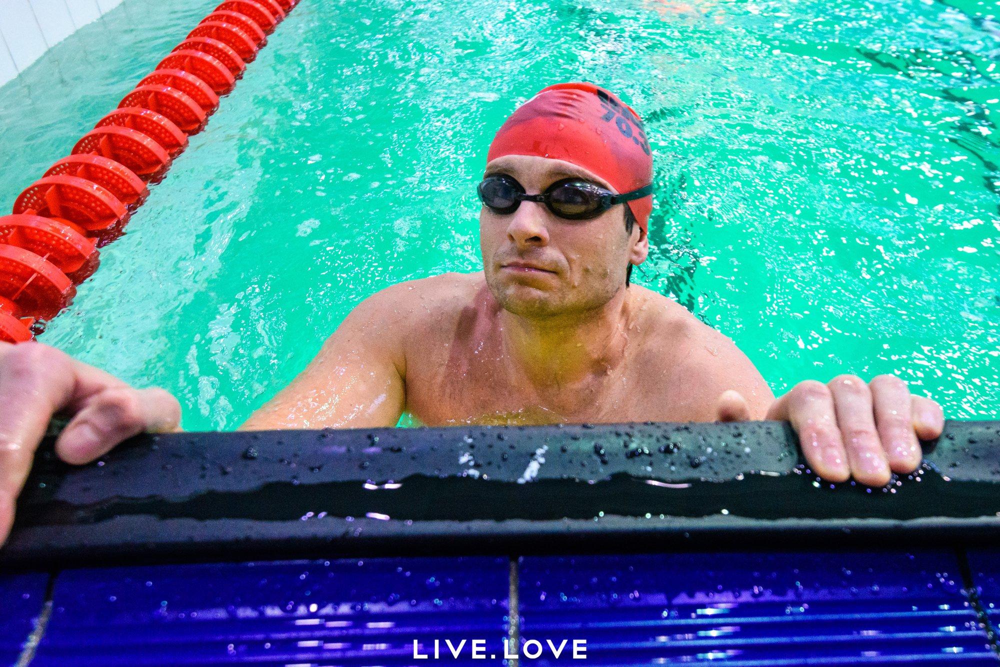 Сергей Марченко активно занимается спортом