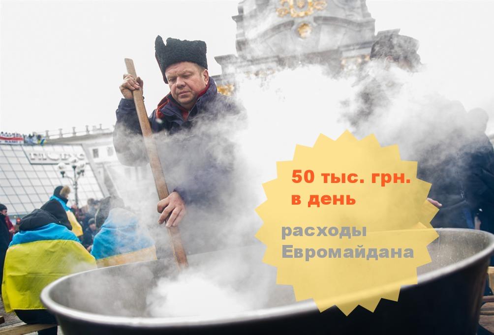 Сколько стоит Евромайдан