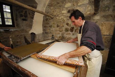 Мельница и фабрика по производству бумаги Richard de Bas