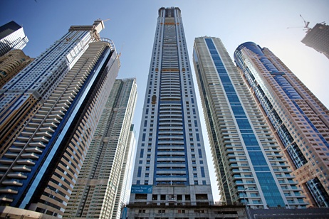 Здание предлагает 763 элитные квартиры  по цене около $ 2793 за кв. м.
