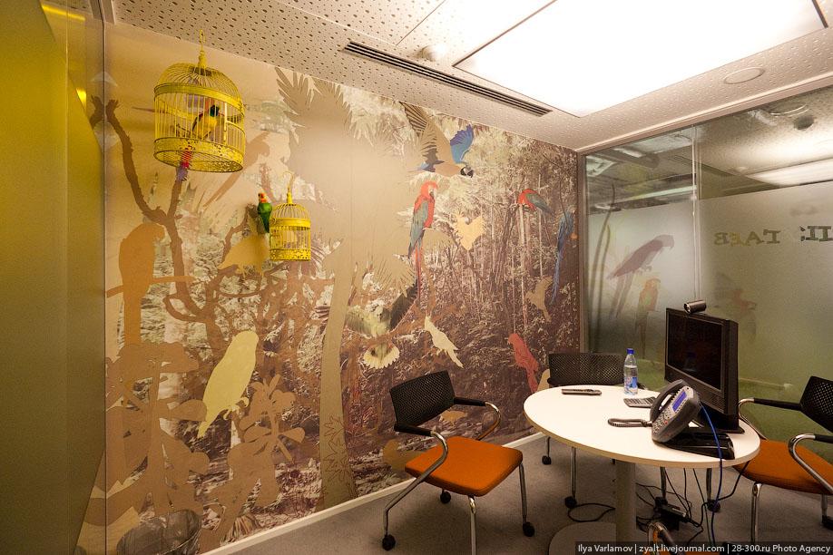 Офис Google в Москве, Россия