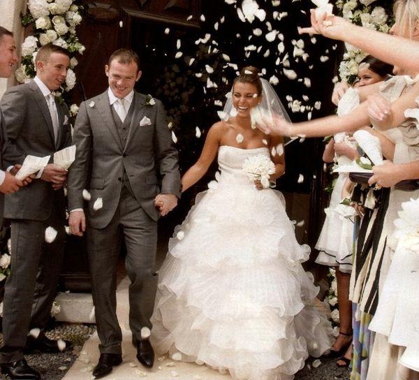 Уэйн Руни женился на подруге детства в 2008 году