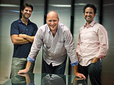 Основатели стартапа Zaarly
