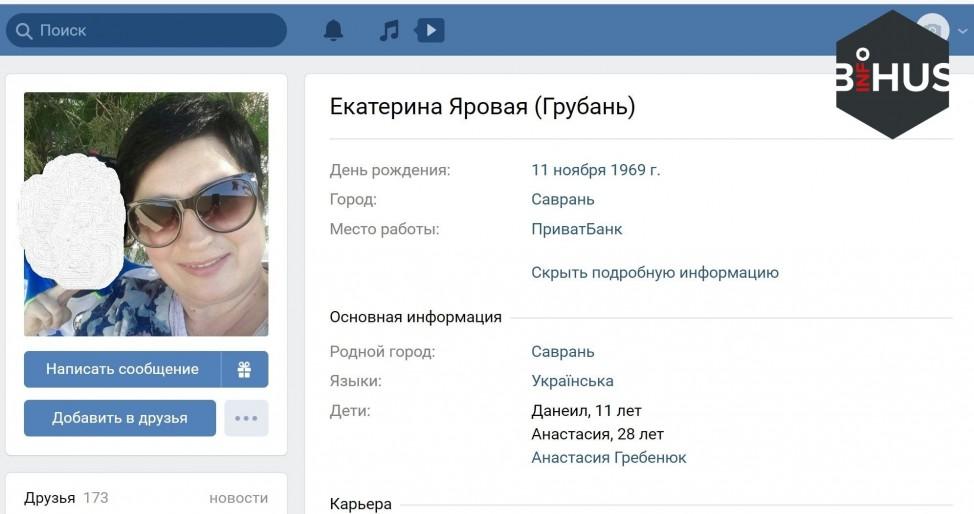 Анастасия Гребенюк с мамой использовали личные данные граждан, чтобы перечислять деньги Батькивщине