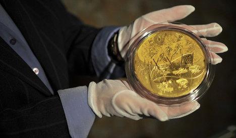 В России выпустили самую дорогую монету