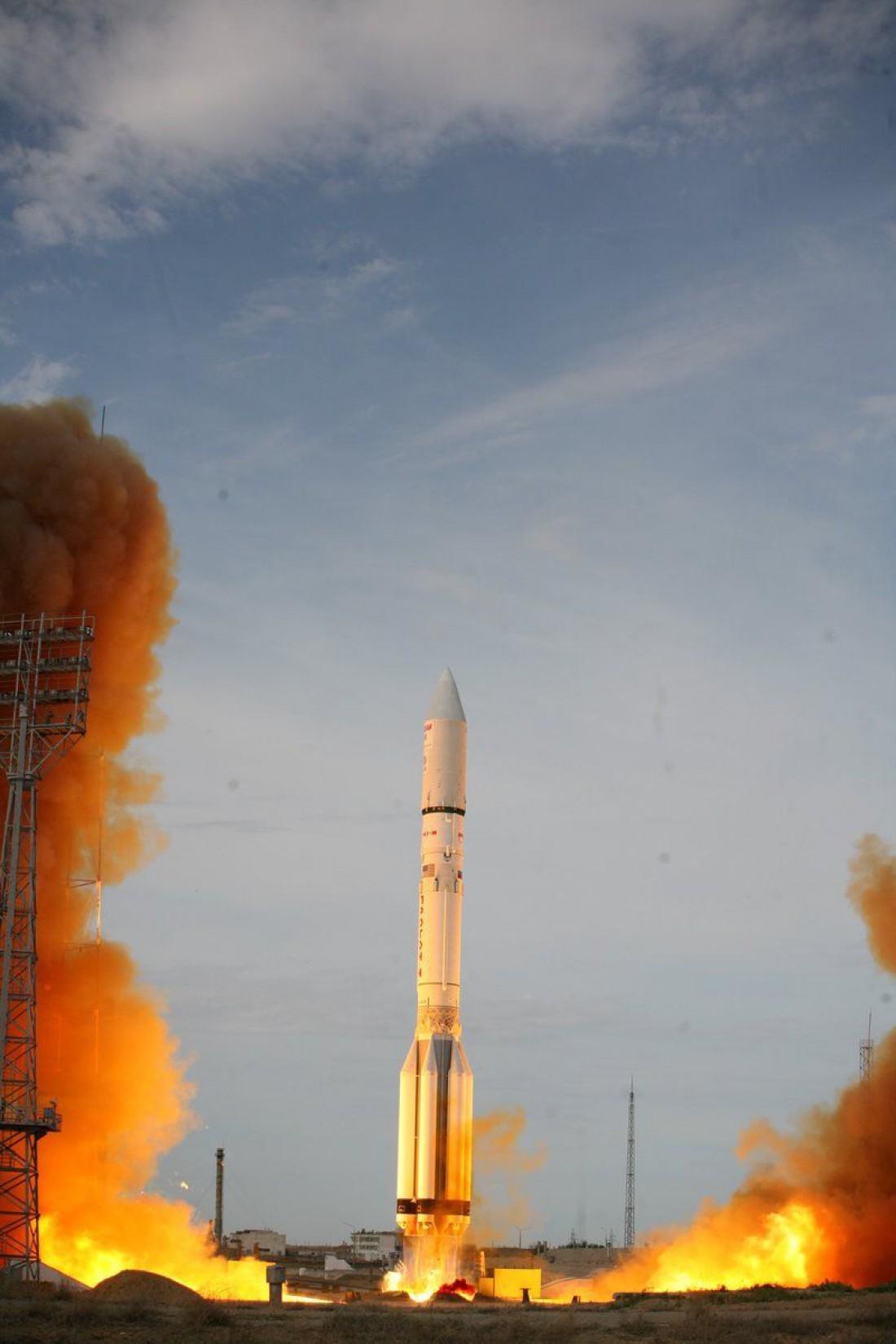Выведение спутника на расчетную орбиту занимает несколько часов
