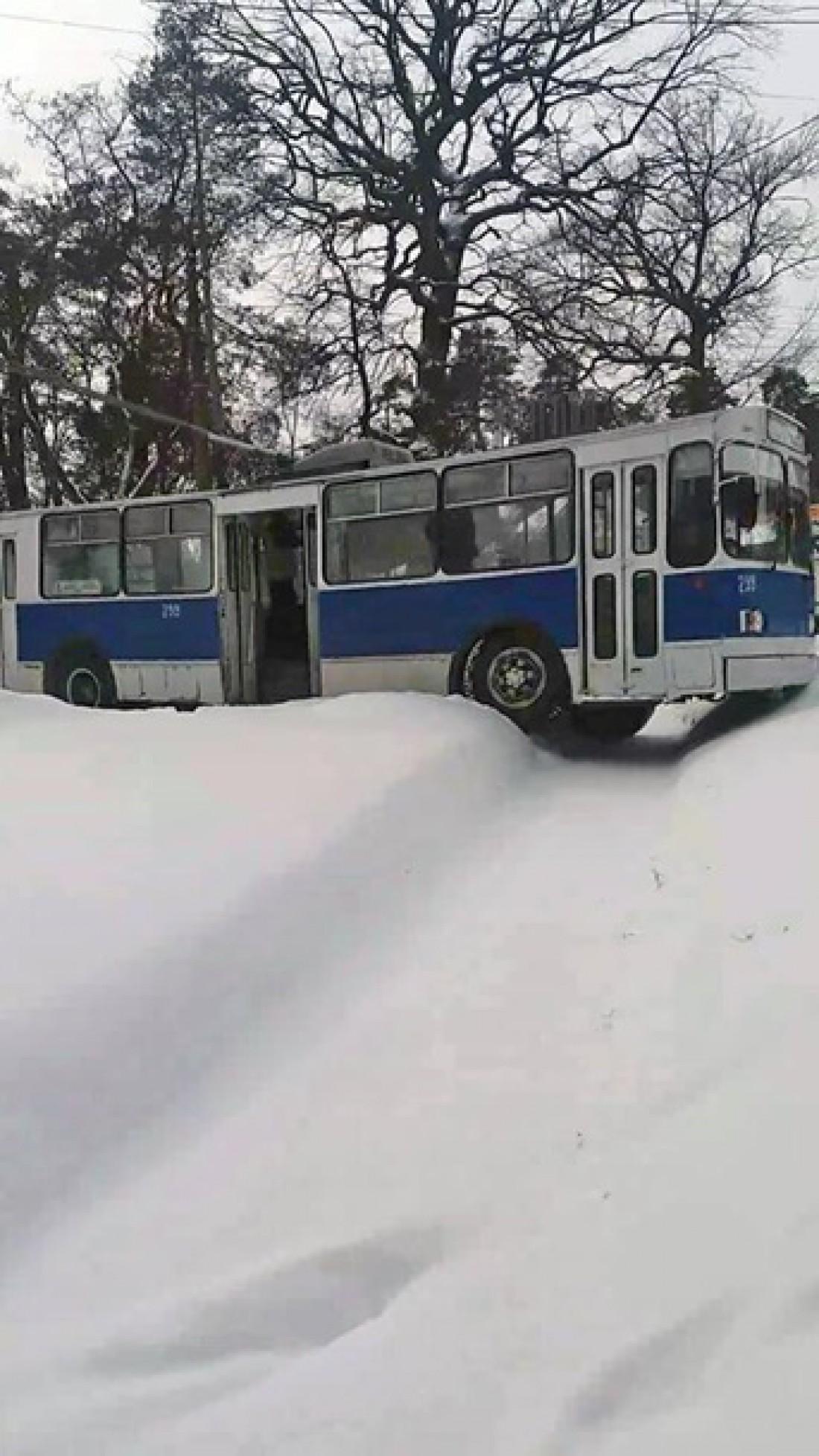 Транспорт не получил серьезных повреждений