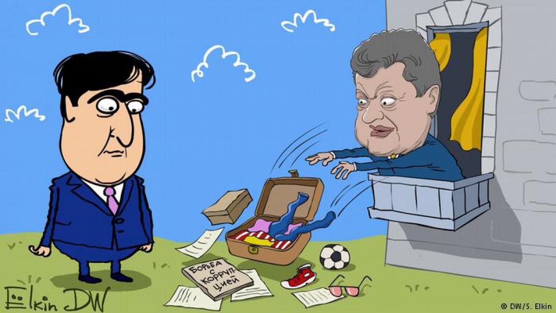 Президент Украины Петр Порошенко лишил Михаила Саакашвили украинского гражданства