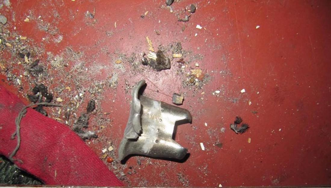 Следственная группа нашла кольцо от гранаты и множественные осколки