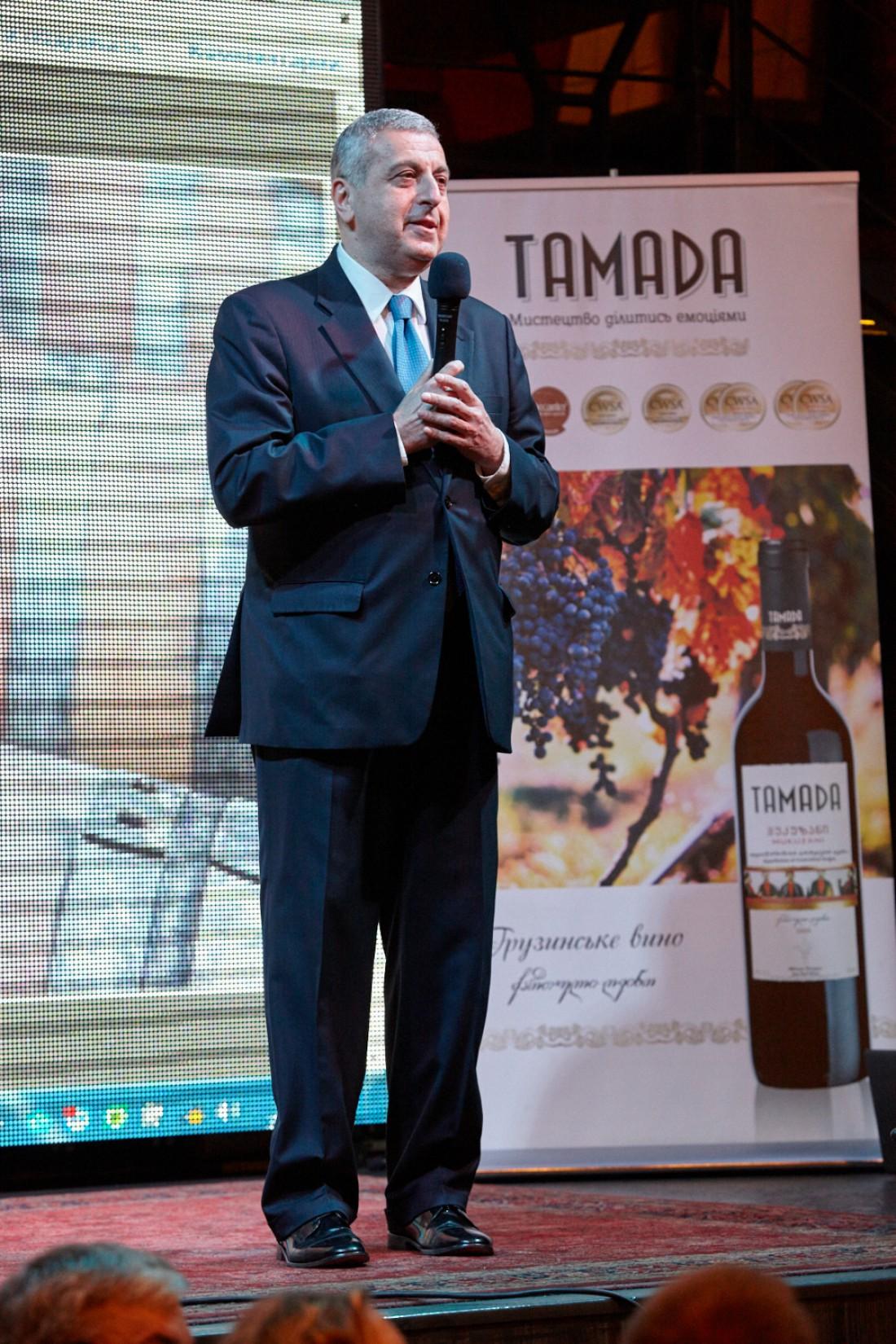 Посол Грузии в Украине Михеил Уклеба