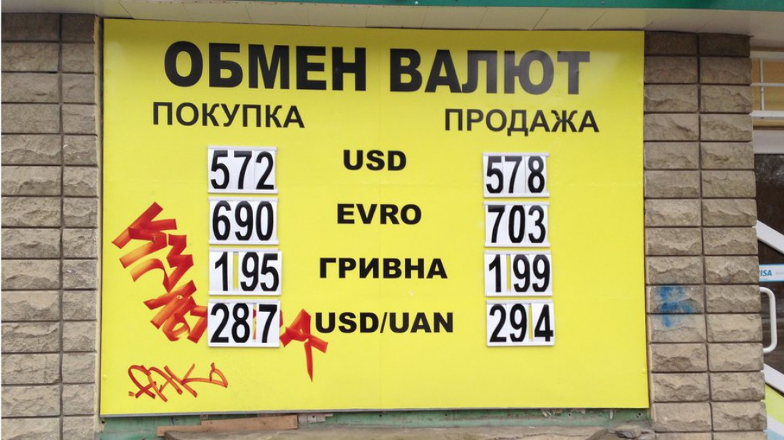 Актуальные курсы валют в Луганске