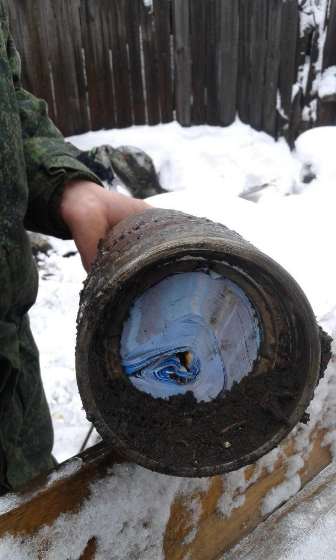Снаряд не мог прилететь в таком виде, так как листовки должны были сгореть - InformNapalm