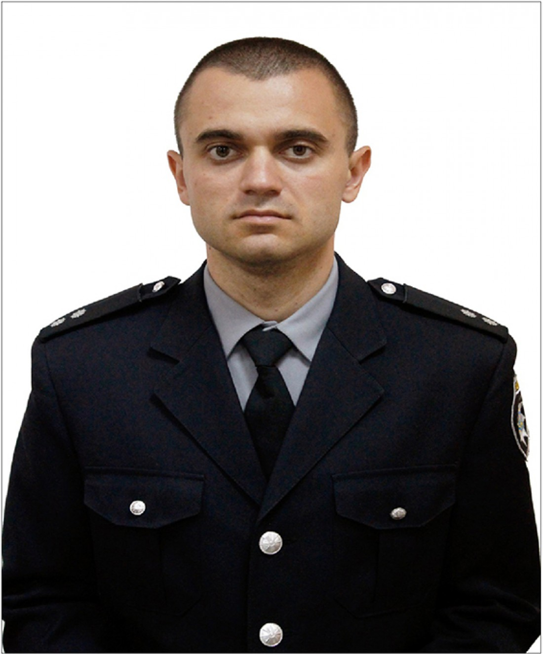 Погибший лейтенант полиции Александр Маница