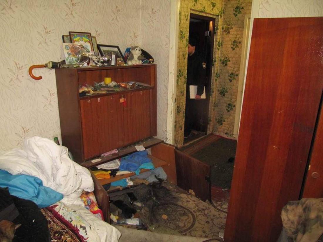 В результате происшествия владелец квартиры получил ранение