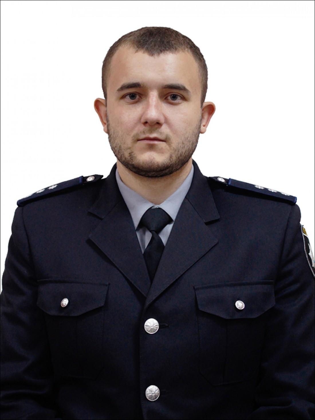 Погибший старший лейтенант полиции Юлиан Рудько