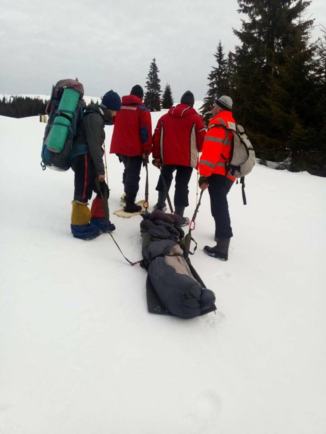 В горах была значительная опасность схода лавин