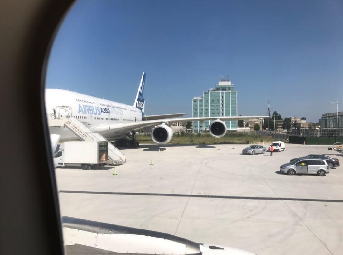 A380plus будет перевозить на 80 пассажиров больше, чем предыдущая версия самолета.
