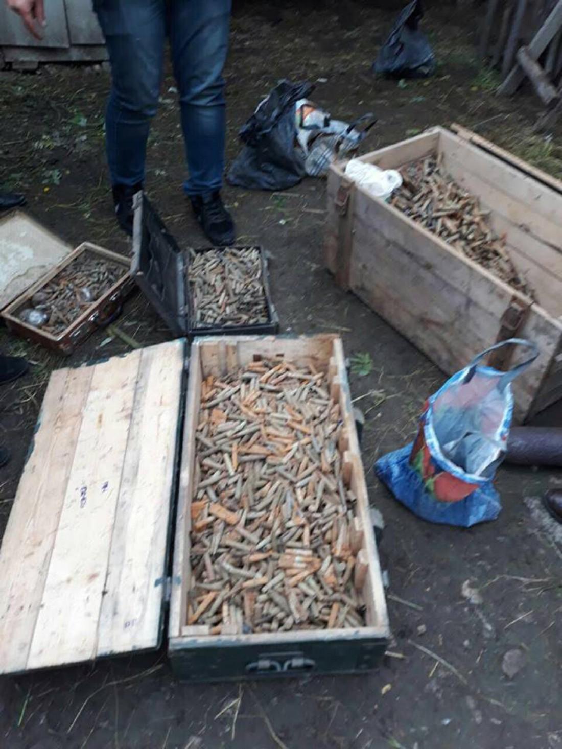 Пенсионер хранил дома большое количество боеприпасов