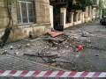 С дома в центре Одессы рухнули три балкона