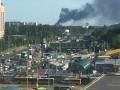 В Вишневом под Киевом крупный пожар, горел склад