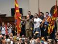 В Македонии протестующие штурмовали парламент, есть раненые: фото