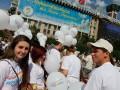 Активисты партии «Украина – Вперед!» в честь Дня города Киева выпустили в небо 1530 шаров