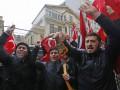 Турки сорвали флаг с консульства Нидерландов и водрузили свой