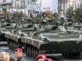 В Киеве прошла генеральная репетиция военного парада