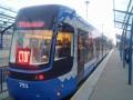 В Киеве на маршрут вышел еще один современный трамвай