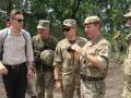 Британские военные съездили в ООС